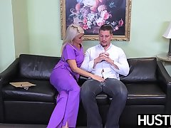 Lascivious nurse Layla Price butt plowed before creampie