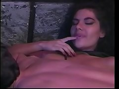 Frizzled haired babe Alicia Rio in the prison is so horny that is ready to give everything