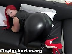 Taylor Burton leather booty instruction