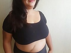 Infernal tits  -Try on of 4 new tops-  with 5 cum swallows