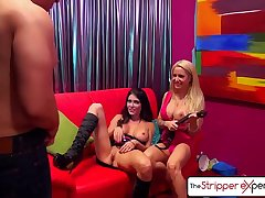 The Stripper Experience - Jessica Jaymes &amp_ Helly Hellfire fucking a big dick, big boobs and big hot goods