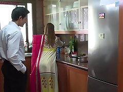 Lonely beautiful wife falls prey to husband'_s pervy brass hat Niks Indian