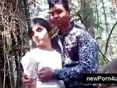 Most Beautiful with the addition of cute Indian ungentlemanly kiss with the addition of boob pressed by bf elbow nett elbow newPorn4u.com