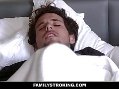 Despondent Big Tits Latina MILF Step Mom Crystal Rush Lets Her Step Son Fuck Her After He Accidentally Taking Boner Pills