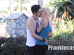 Kissing prank compilation that gone sexual easy to win girls on L.A. HD