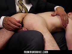 MormonBoyz - Daddy Spanks Cute Mormon