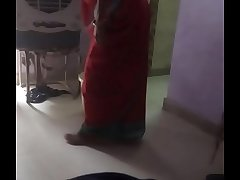 My desi maid boob action