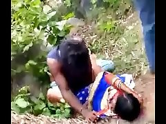 Desi Indian Gang Bang in Jungle
