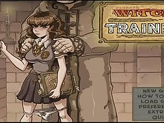 Akabur'_s Witch Trainer Full Playthrough Part 1