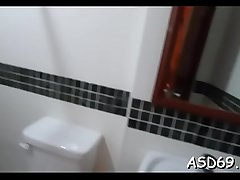 Cute asian sex doll gets their way throat fucked by a horny chap