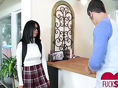 Monica Asis In Bookworrm Stepsis Gets Her First D