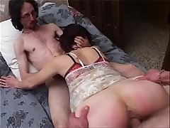 Blowjob and fuck for the young neighbor