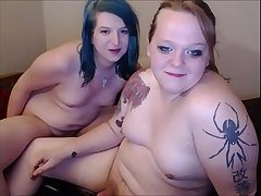 Thick Shemale Couple Fucking Their Brains Out