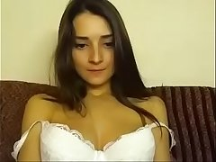 Hot babe touches herself - asiacamgirlsgroup.com