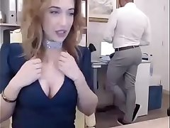 #fuckwork Camming Behind Her Top brass Back Energetic STREAM Part 1