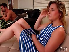 Brother Reduce possibility of Sister to Give Him a Blowjob - Brainwashing - Fifi Foxx
